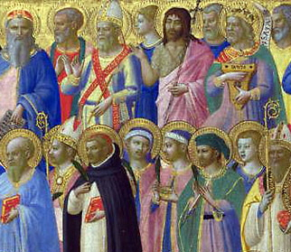 Christ with Saints and Martyrs - Fra Angelico - M