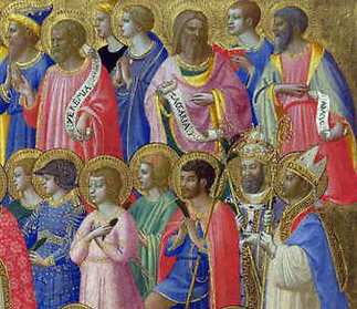 Christ with Saints and Martyrs - Fra Angelico - R